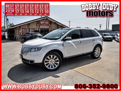 2014 Lincoln MKX Base (White)