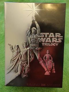 Star Wars Trilogy LIKE NEW NO SCRATCHES DVD, 4-Disc Set Widescreen