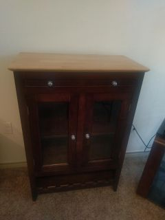 Wine cabinet and coffee tables 3 pieces