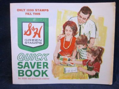 S&H Green Stamps & Stamp Books FULL & EMPTY