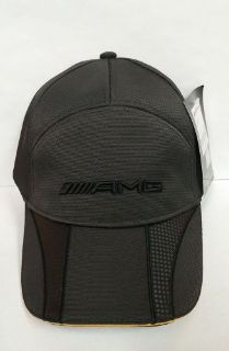 Buy Mercedes-Benz AMG structured cap with yellow accents motorcycle in Chantilly, Virginia, United States, for US $34.99