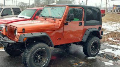 1997 Jeep Wrangler Sport (copper)
