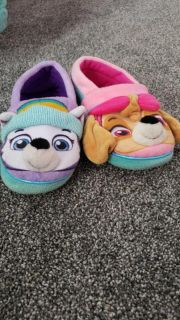 Girls slippers(size 11-12)
