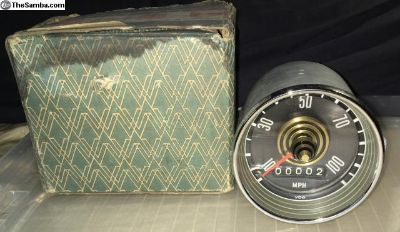 341957023A RARE NOS T34 Type34 MPH Speedometer