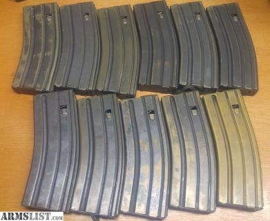 For Sale: Pre-Ban AR-15/M-16 USGI 30rd Pre-ban Magazines magazine mag mags clip clips