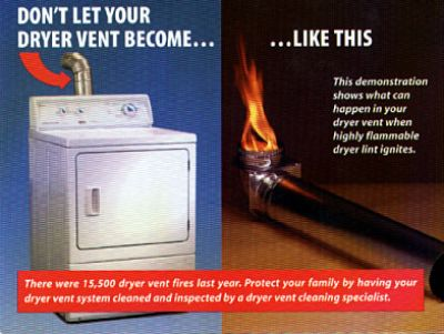 Top Quality Dryer Vent Cleaning and Fire Place Inspections