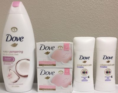 Dove shower bundle. Price is Firm.