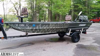 For Trade: 14' Alumacraft jon boat