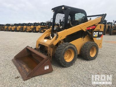 2016 Cat 262D Skid-Steer Loader