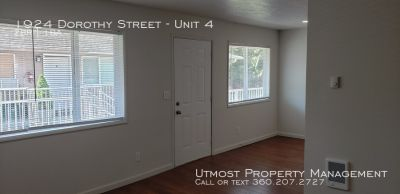 LONGVIEW APARTMENT FOR RENT