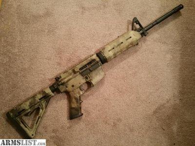 For Sale: DPMS Atacs camo AR15