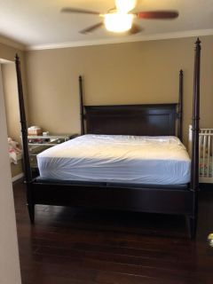 Lane furniture 4 poster bed frame