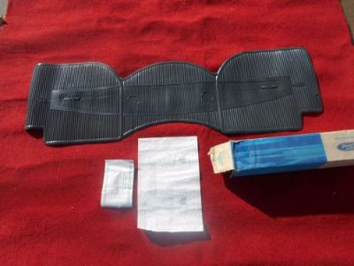 Sell 1969 Ford NOS FOMOCO Rear Floor Mat GT-40 Original FOMOCO C9AZ-6213106-U motorcycle in Great Bend, Kansas, United States, for US $49.99