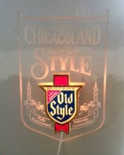 Old Style Beer Sign - Chicagoland