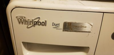 Whirlpool gas washer and dryer