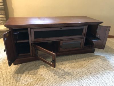 Tv cabinet for large tv up to 65