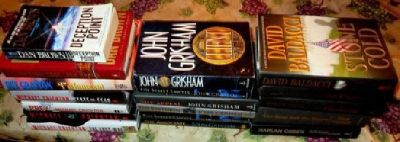 18 HB & SB Mystery / Crime / Thriller Genre Books of Famous Authors