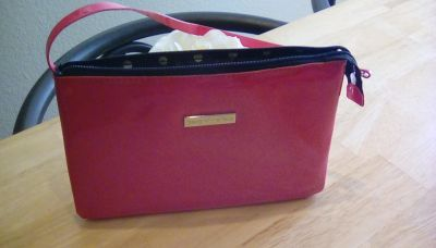 BRAND NEW BARE MINERALS MAKE UP BAG, APRX. 6IN. TALL X 8 WIDE, SECOND PICTURE IN COMMEMTS AREA