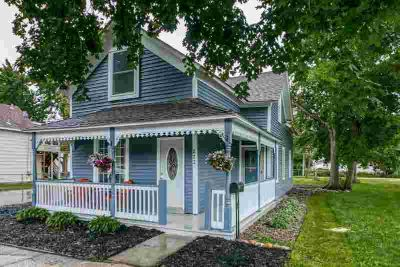 222 S Meridian Street BELLE PLAINE Five BR, Renovated two story