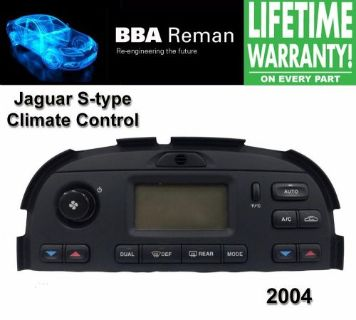 Purchase 2004 Jaguar Climate Control Repair Service Heater AC Head s type s-type 04 stype motorcycle in Taunton, Massachusetts, United States