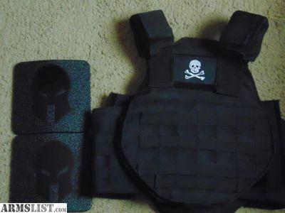 For Sale/Trade: bulletproof vest level 3 body armor