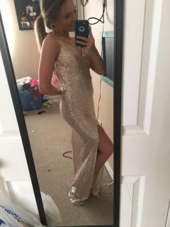 Prom dress (excuse the mess )