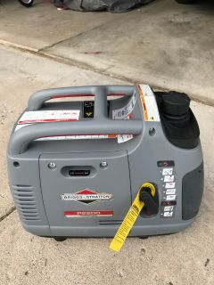 Briggs and Stratton P2200 inverter generator