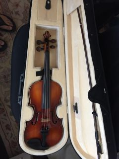 Violin - 1/2 Size German with bow and new case