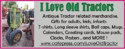 I Love Old Tractors !