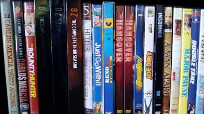 Like new DVDs-ONLY watched once