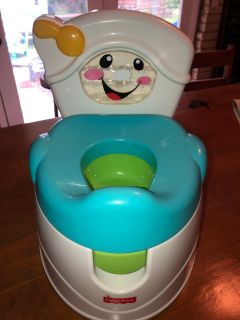 FISHER PRICE - TEACH ME TO FLUSH POTTY