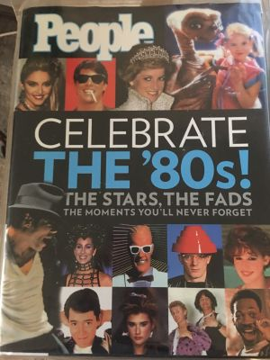 People: Celebrate the 80's (Hardcover)