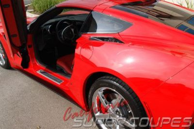 Buy Corvette C7 Stingray Straight Style Side Skirts by CSC For Base Model 2014-2016 motorcycle in Corona, California, United States, for US $499.00