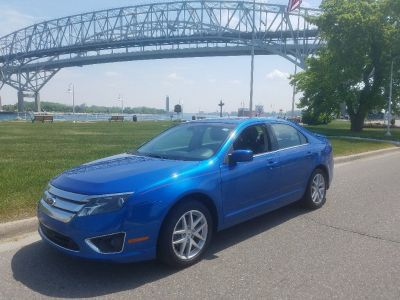 2012 FORD FUSION--ROYAL BLUE