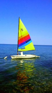 Sailboat hobie holder