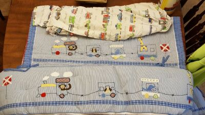 Pottery Barn Train Baby Bedding