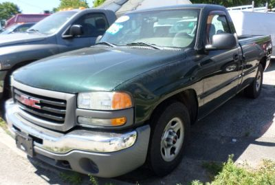2004 GMC Sierra 1500 Work Truck (Polo Green Metallic)