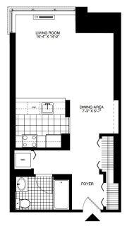 $5580 1 apartment in Hoboken