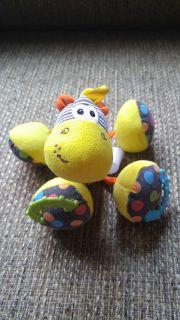 Stuffed animal rattle