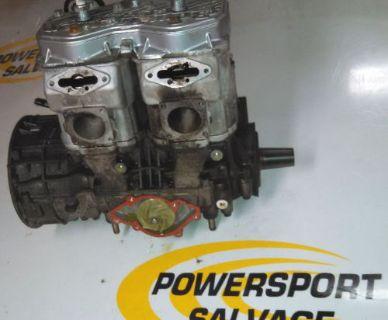 Sell Ski Doo Rev MXZ adrenaline GSX Renegade 600 03-07 Complete Motor engine HO 593 motorcycle in Rockford, Michigan, United States