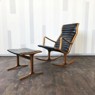 Japanese Rocking chair by Mitsumasa Sugasawa