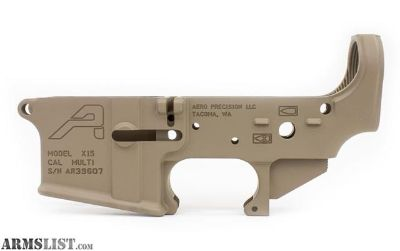 For Sale: HOLIDAY BLOWOUT!!! AERO PRECISION STRIPPED AR-15 LOWERS Gen 2 FDE CERAKOTE