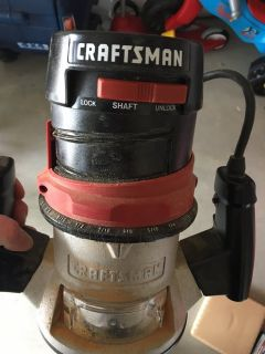 Craftsman Router 1.5 HP in box good shape