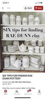 ISO Rae Dunn stuff! Any and all!
