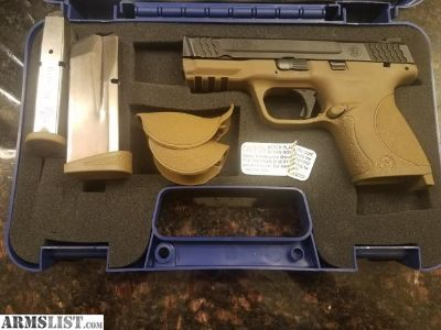 For Sale: M&P 45c FDE