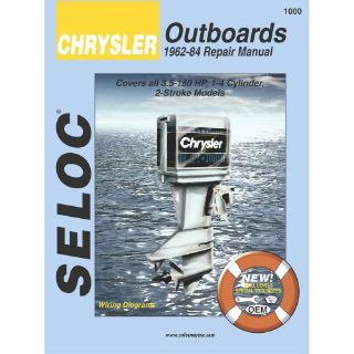 Sell Seloc Service Manual Chrysler Outboards - All Engines - 1962-84 -1000 motorcycle in Phoenix, Arizona, United States, for US $37.81
