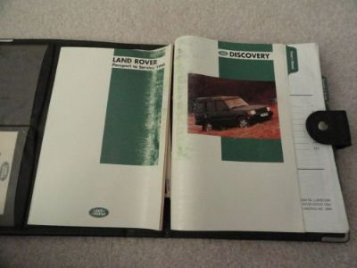 Sell 1994 Land Rover Discovery Owners Manual motorcycle in Logan, Utah, United States