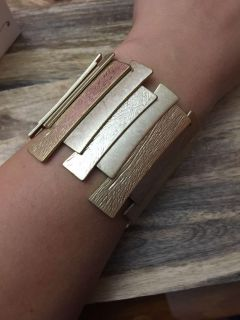 Beautiful brand new gold cuff bracelet - perfect for Christmas