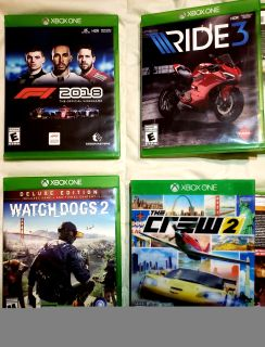 XboxOne games