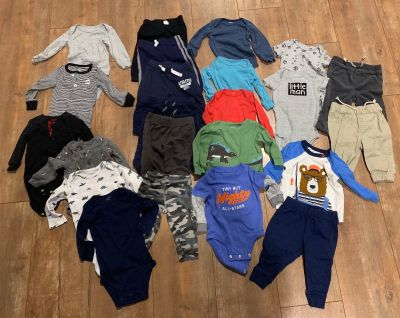 Carters Baby Boy Fall Winter Clothes Size 6 Months